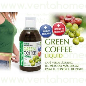 GREEN COFFEE LIQUID 500ml PRISMA NATURAL cumediet