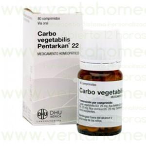 CARBO VEGETABILIS PTK-22 80 COMPUESTO