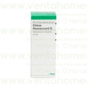 CHINA HOMACCORD S 30 ML GOTAS
