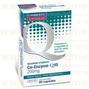 LAMBERTS  Co-Enzima Q10 200 mg  60 CAPSULAS