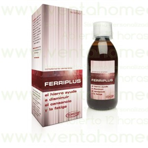 FERRIPLUS JARABE ADULTO 250ML
