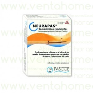 NEURAPAS 60 COMP PASCOE