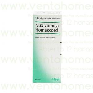 NUX VOMICA HOMACCORD 100 ML GOTAS