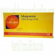LABCATAL 9 MAGNESIO MG 28 AMPOLLAS