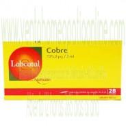 LABCATAL 4 COBRE CU 28 AMPOLLAS