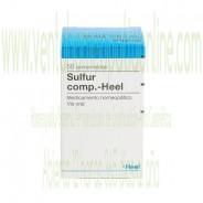 SULFUR COMPUESTO HEEL 50 COMPRIMIDOS