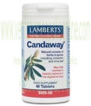 LAMBERTS Candaway® 60 TABLETAS