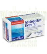 LAMBERTS Acidophilus Extra 10. 30 CAPSULAS