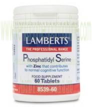 LAMBERTS   Fosfatidilserina 100 mg + Zinc  60 TABLETAS