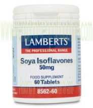 LAMBERTS  Isoflavonas de Soja 50 mg  60 TABLETAS