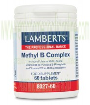 LAMBERTS Methyl B Complex 60 tabletas