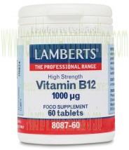 LAMBERTS Vitamina B12 1000 µg 60 tabletas