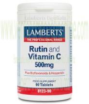 LAMBERTS Rutina y Vitamina C 500 mg 90 tabletas