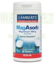 LAMBERTS MagAsorb® 60 TABLETAS