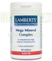 LAMBERTS Mega Mineral Complex 60 TABLETAS