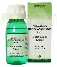 AESCULUS HIPOCASTANUM 6DH GOTAS 60ML